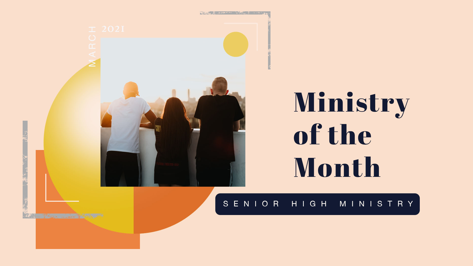 Ministry of the Month - Senior High Ministry