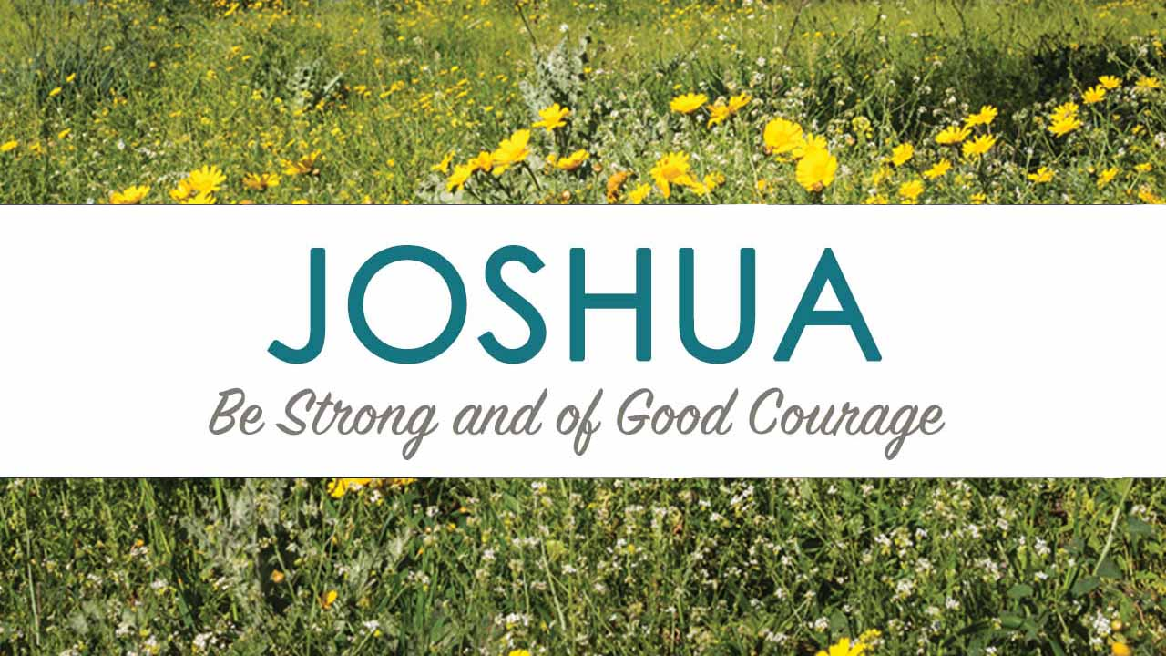 Study through the book of Joshua with Jean McClure