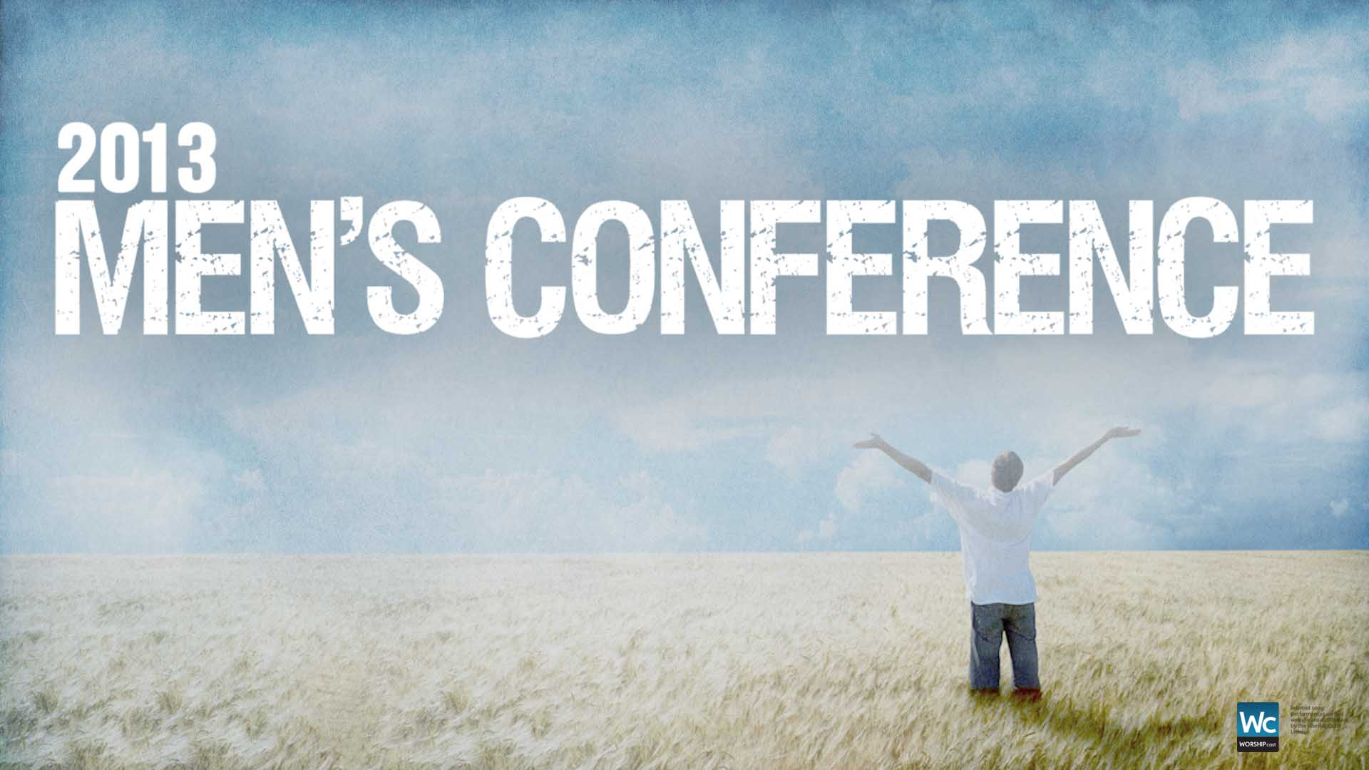 2013 Men's Conference Live Worship